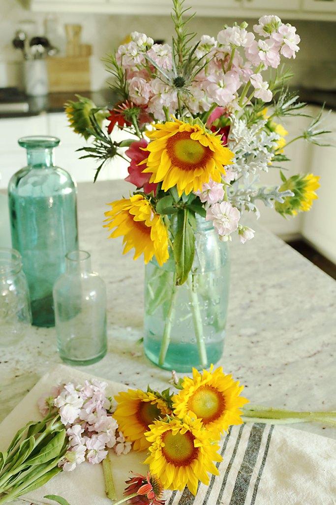 5 Minute Diy Flower Arrangement Darling Darleen A