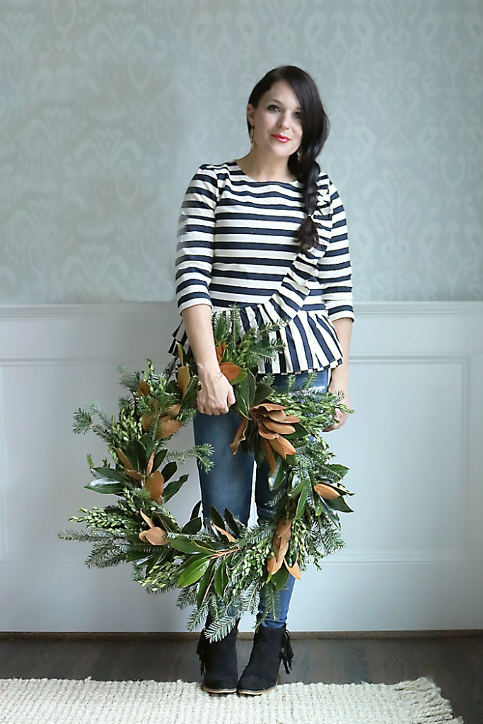 magnolia-wreath-diy-holiday