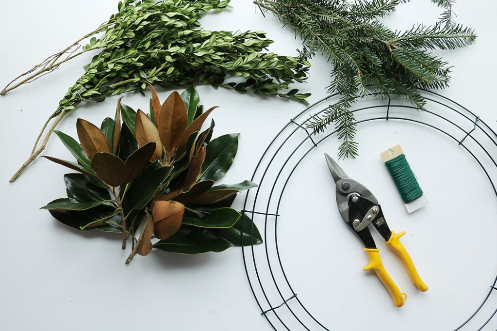 magnolia-wreath-supplies