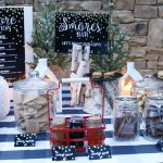 Outdoor S'mores Bar + FREE Printables