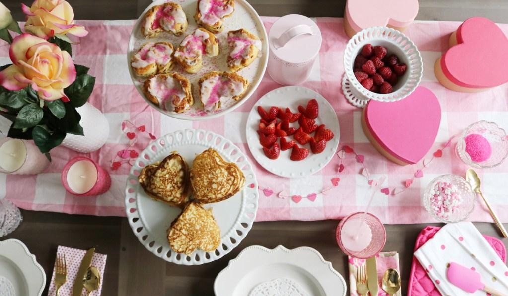 Easy Valentine's Breakfast for Kids