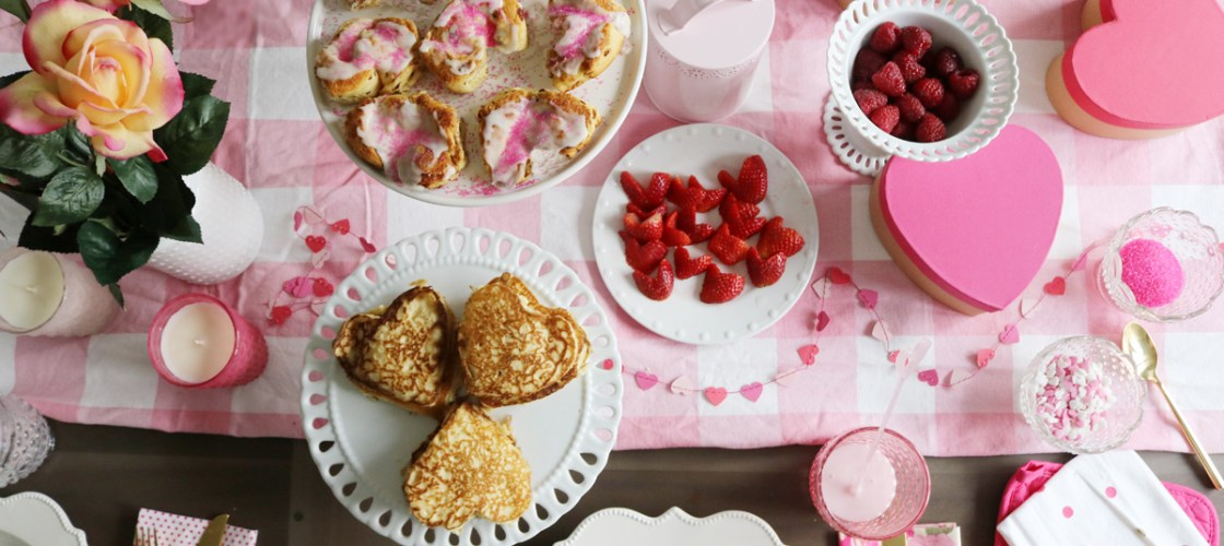 Easy Valentine's Breakfast for Kids