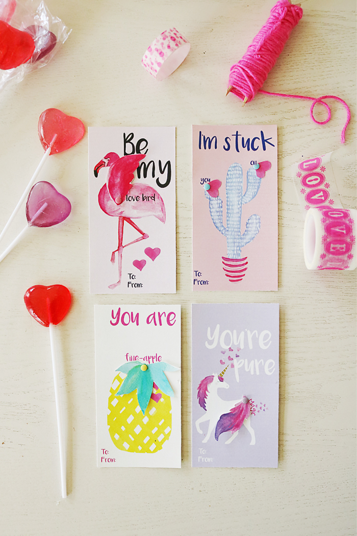 FREE Valentine's Printable Cards