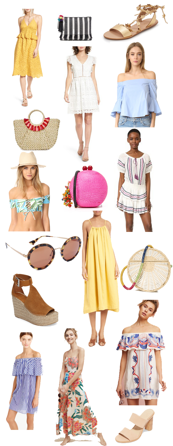 spring finds vacation destination, vacation wear 2017, spring break outfits 2017, spring outfits, beach outfits for spring 2017, beach coverup, shop bop,