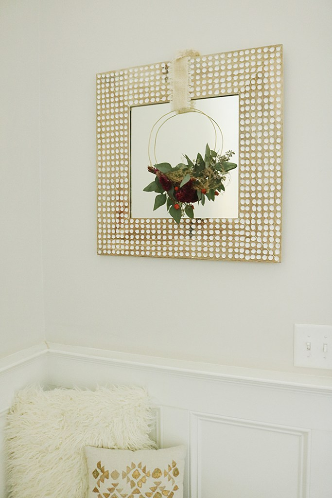 modern harvest wreath, modern wreath for front door, diy modern wreath, fall modern wreath, wreath style, asymmetrical wreaths, geometric wreath, wreaths made out of hangers, budget friendly wreaths, modern wreath wedding, modern wreath winter, modern wreath ideas, simple wreath ideas