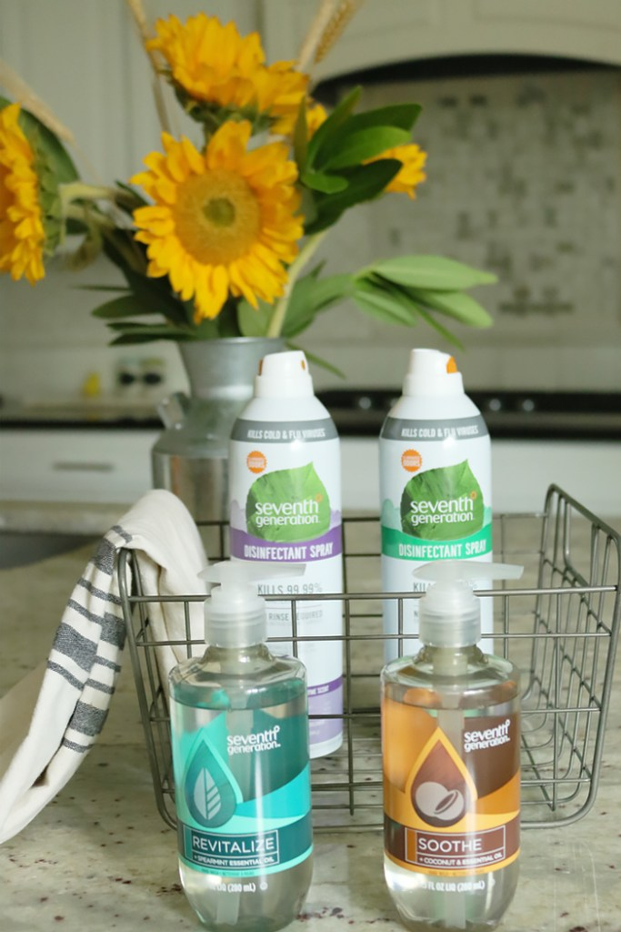 staying healthy during the cold and flu season, seventh generation disinfectant spray, staying healthy during flu season, immune booster, prevention , avoid germs, natural tips to stay healthy