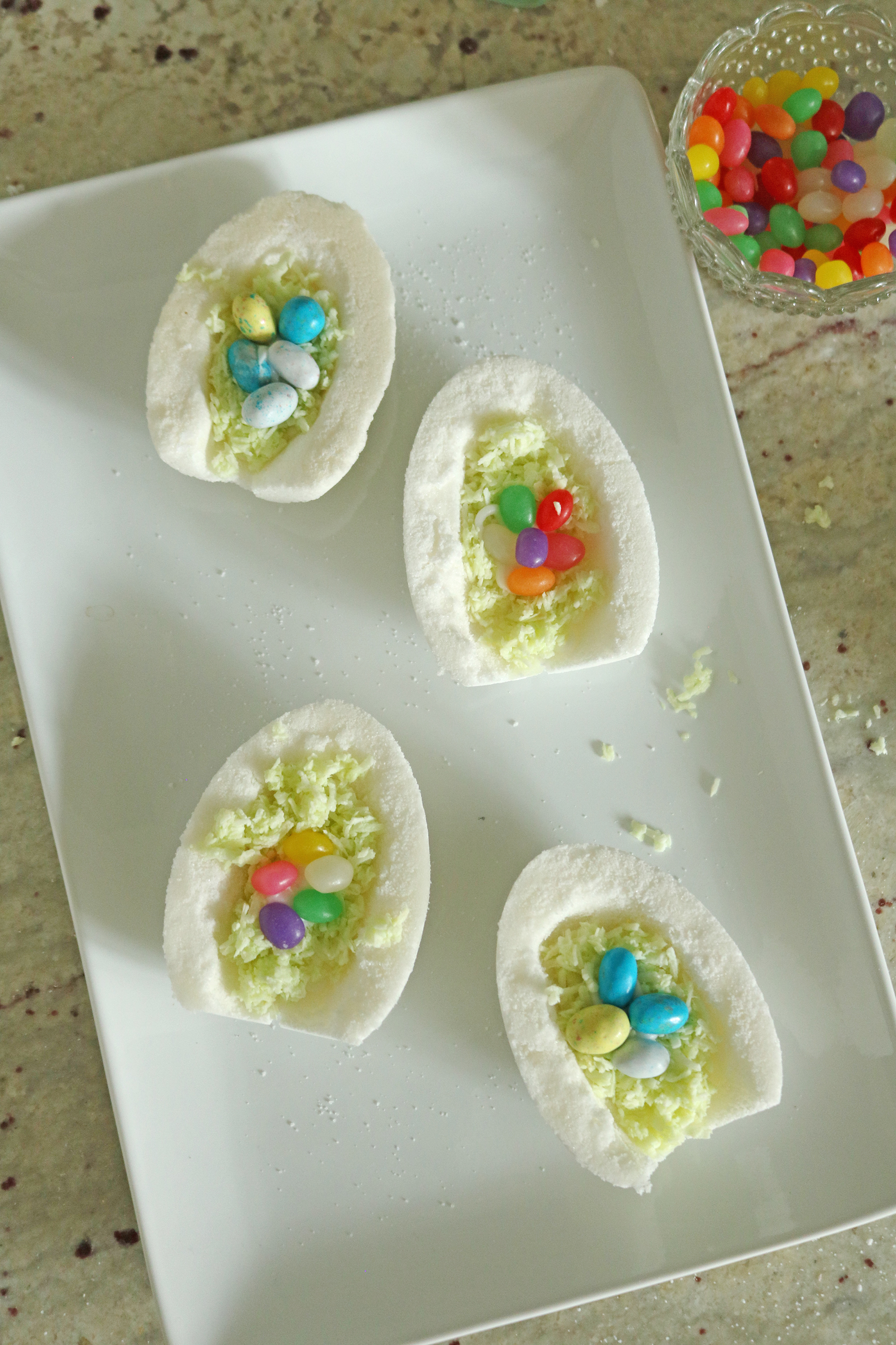 DIY Sugar Panoramic Easter Eggs, Easy how to make Tutorial || Darling Darleen