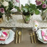Garden Inspired Easter Table