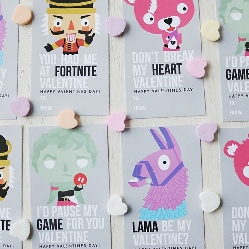 Fortnite Valentine Printable