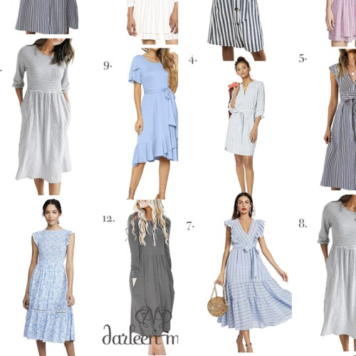 Amazon End-of-Summer Dresses