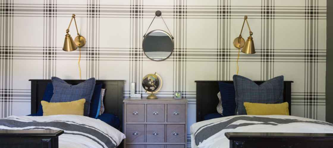 Bold Tween Boys Bedroom