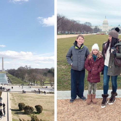 Washington DC with Big Kids