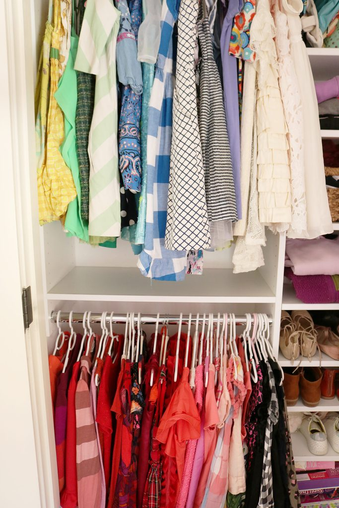 Follow these 5 tips for Spring Cleaning Closets for an easy way to boost your mood, save time and money and organize your family's life.   || Darling Darleen | Top Connecticut Lifestyle Blogger