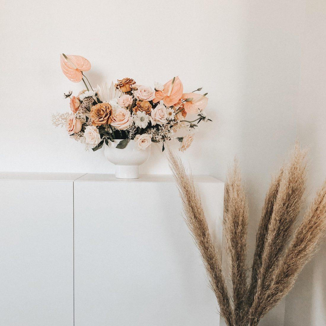 Dried Flower Arrangements Darling Darleen A Lifestyle Design Blog