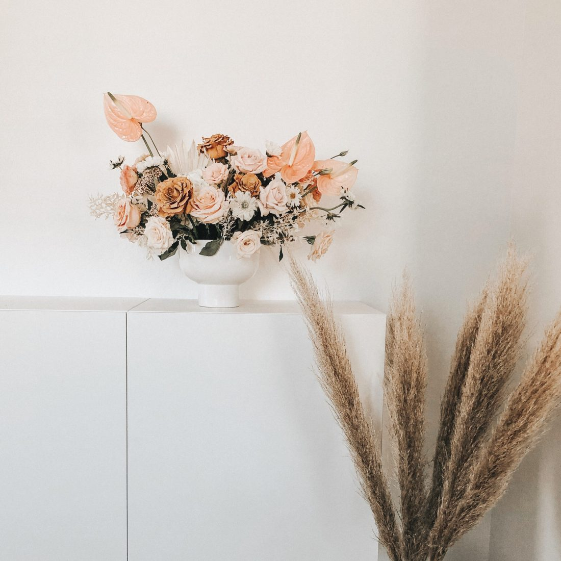 Where to find flowers for dried flower arrangements and the best flowers to choose || Darling Darleen Top Lifestyle Connecticut Blogger