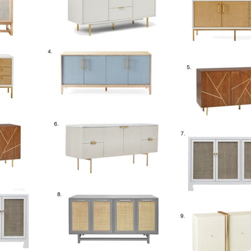 10 Favorite Buffet Sideboards