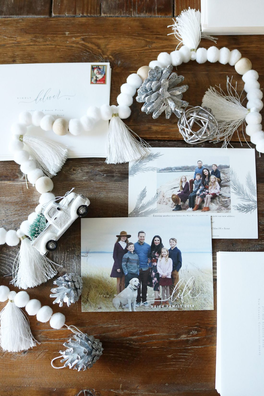 Minted Christmas Cards has the best print job, paper thickness and card designs.  We love the discounts available and the quick shipping.  Our Holiday cards come out great every year!  Darling Darleen | Top CT Lifestyle Blogger #darlingdarleen #minted #holidaycards #christmascards