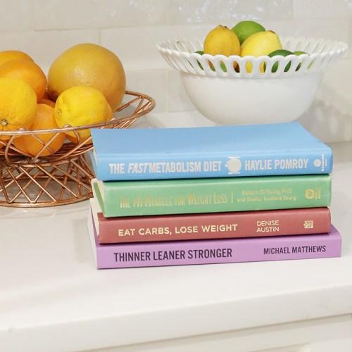 4 Diet WEIGHT LOSS Books