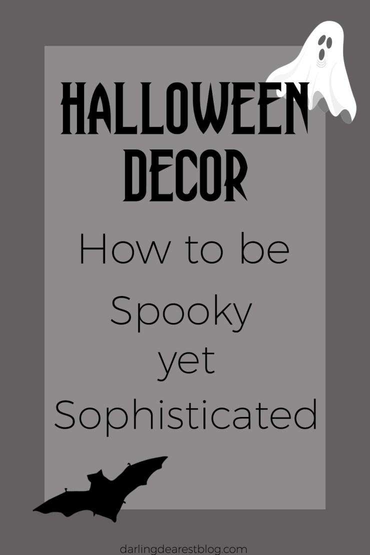 how to keep halloween classy