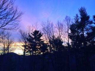 Boone NC sunrise