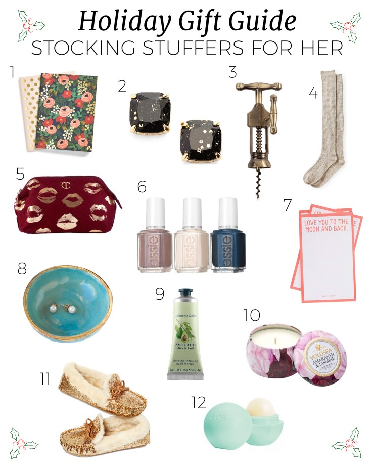 holiday gift guide stocking stuffers for girls