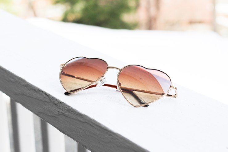 Nordstrom heart sunglasses