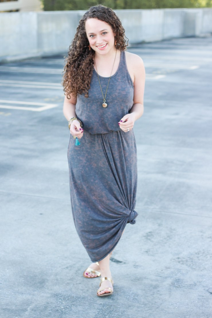 short girl maxi dress