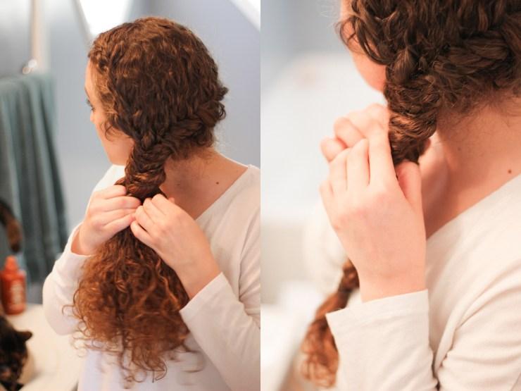 garner whole blends summer braid tutorial #ad