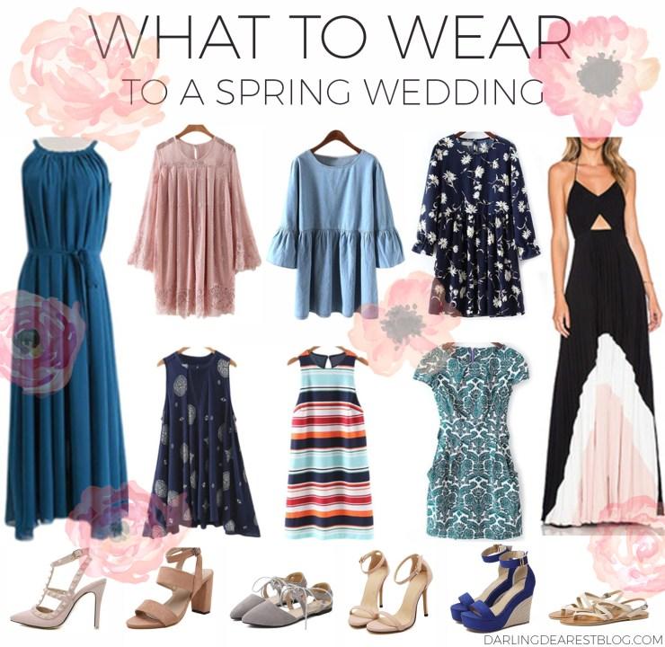 whattoweartoaspringwedding
