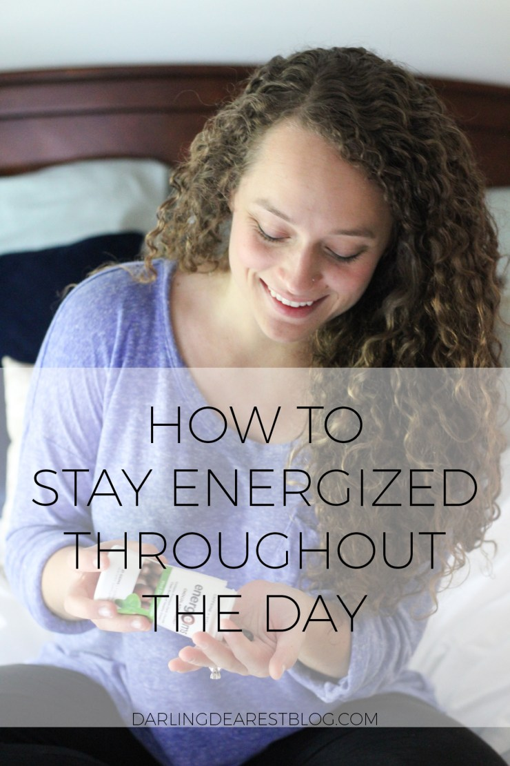 How to Stay Energized Throughout the Day with Energies #ad #TheBestMe