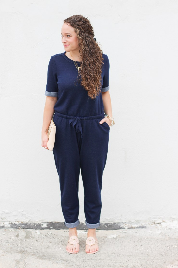 How to wear a jumpsuit on darlingdearestblog.com