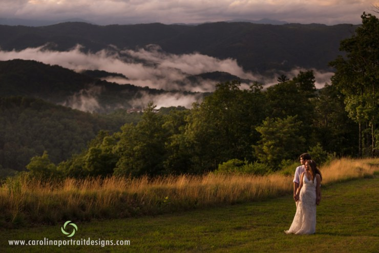 Emily & Brett Green's Boone Wedding on 6/27/15 by Garrett Price of .