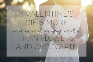 valentines gifts more meaningful than flowers and chocolate