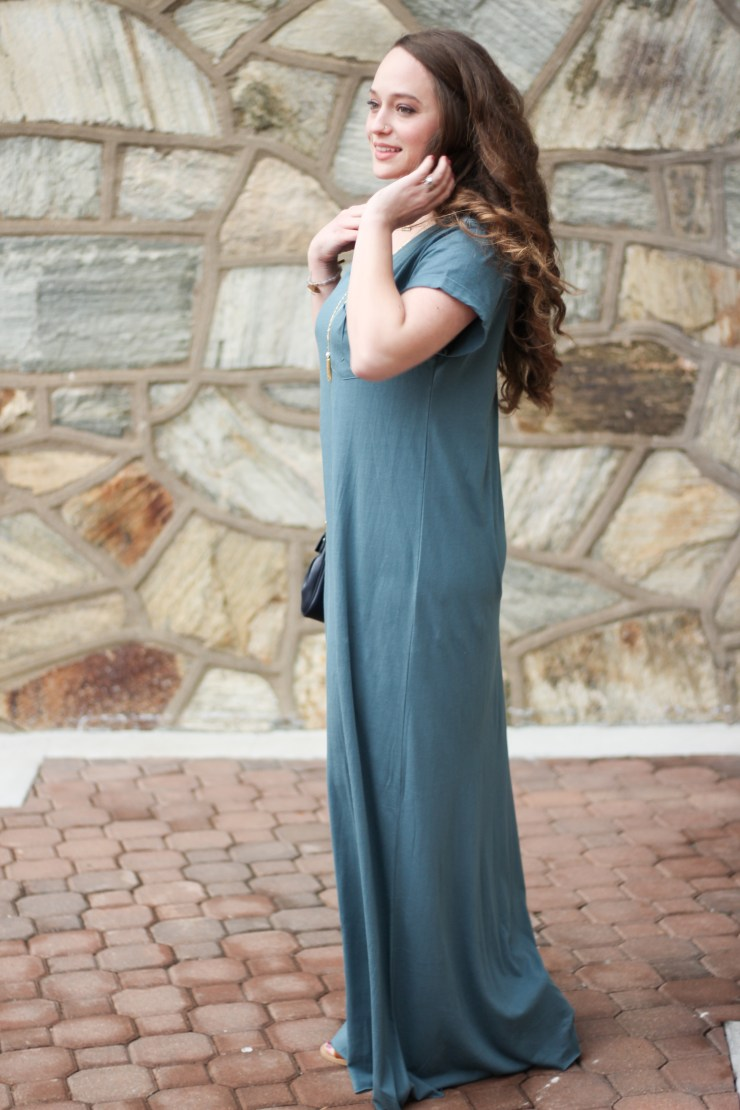 Natural Life Logan Maxi Dress, blue maxi dress