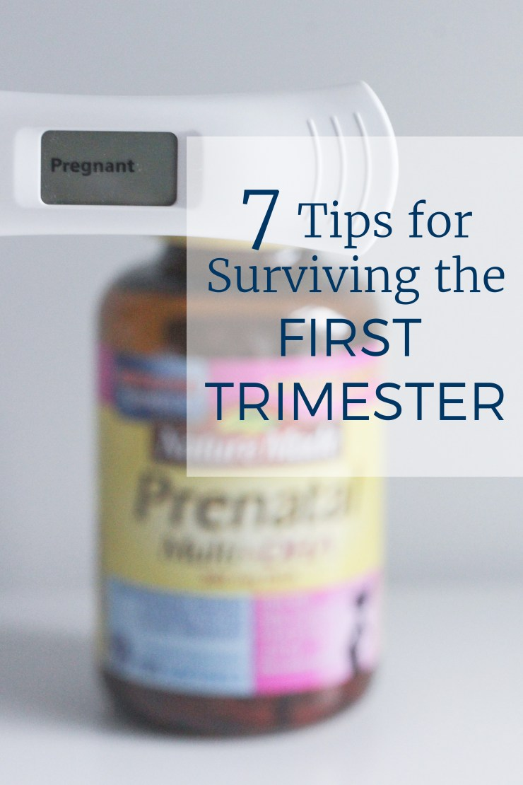 7 tips for surviving the first trimester with Nature Made® Prenatal Multi + DHA Vitamins #NatureMadePrenatalDHA #CollectiveBias #ad