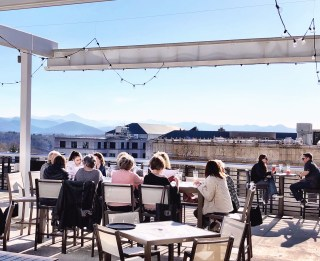asheville rooftop bar tour review, asheville tourist, asheville north carolina, what to do in asheville