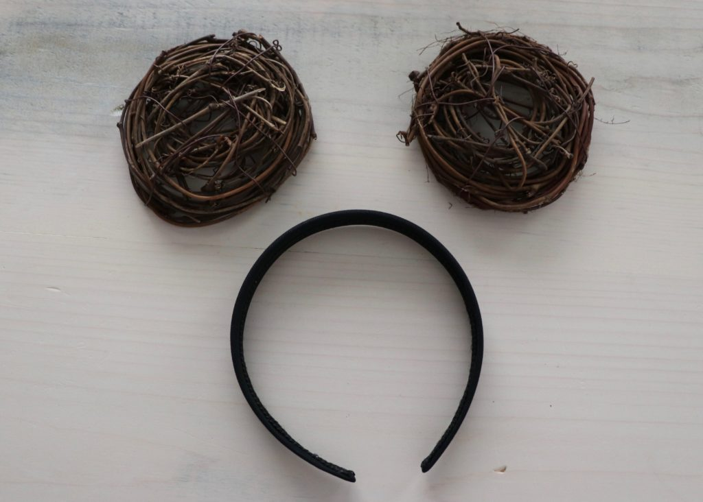 crafting nests and black 1 inch headband