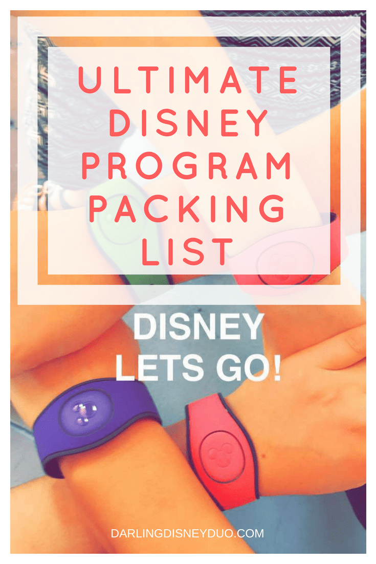 Looking for a Disney Packing List? See our ultimate Disney Program packing list!
