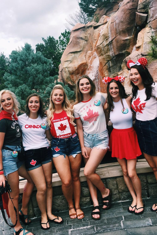 Canada Day at Disney World