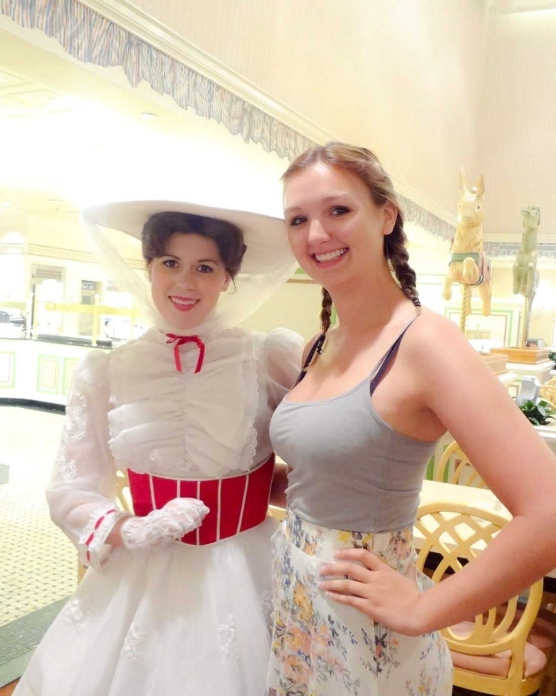 Are you ready to meet cool characters like Mary Poppins at 1900 Park Fare at the Grand Floridian