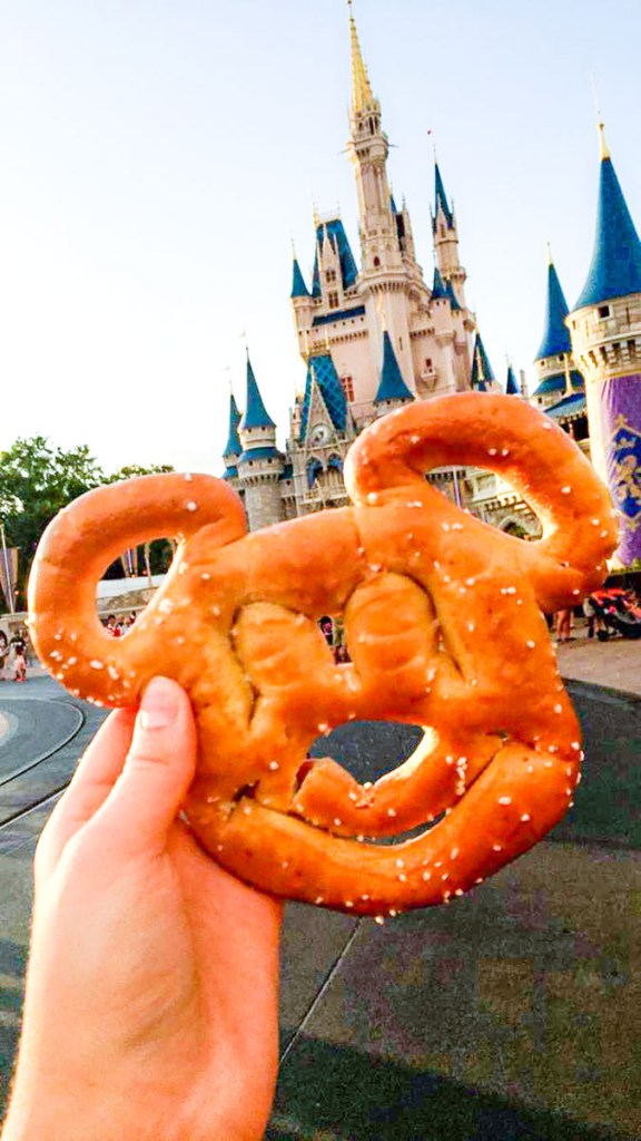 The Mickey Shaped Pretzel dreams are made of