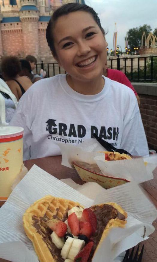 Waffles at Magic Kingdom