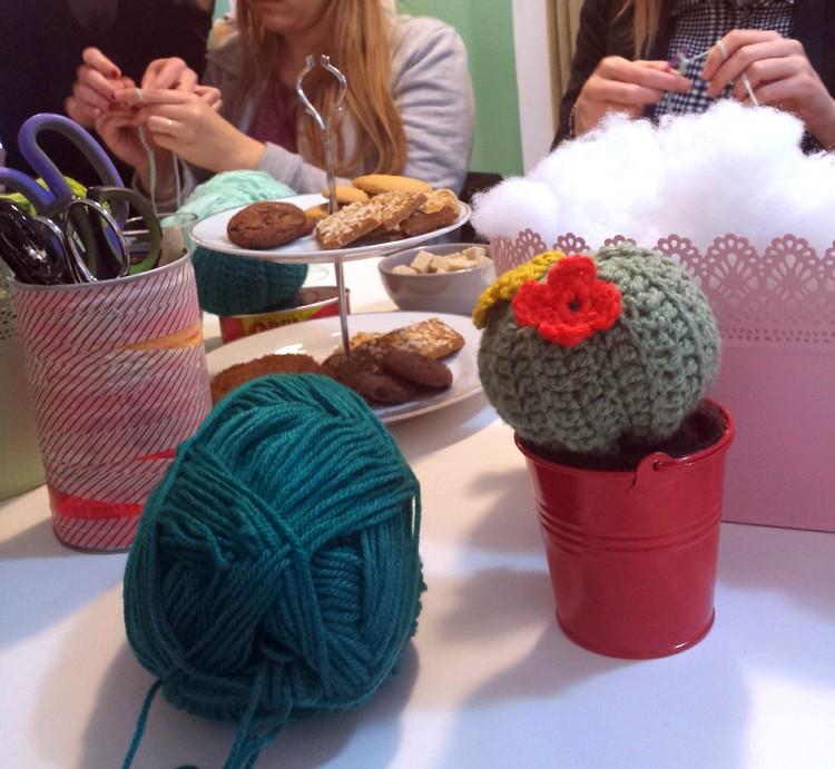 la feliz diy atelier tricot couture espagnol mode robe tortillas brunch cactus laine