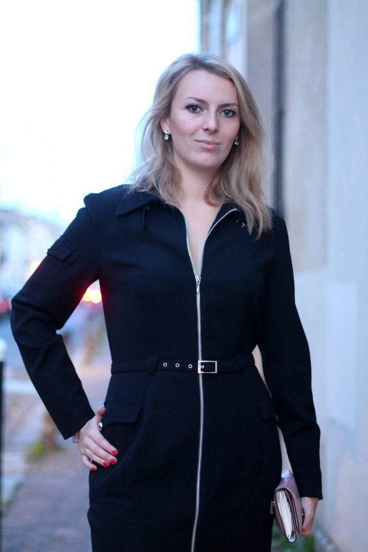 robe manteau thierry mugler pochette escarpins zara vernis dior 24