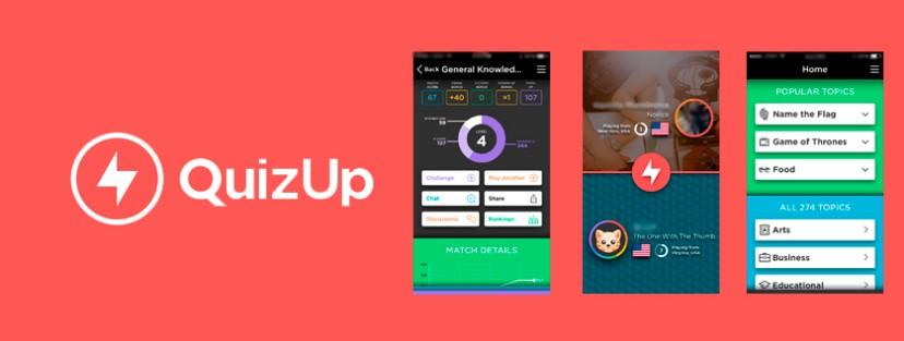 quizup, application, caputre ecran, duel, niveau, experience, profil, jeu
