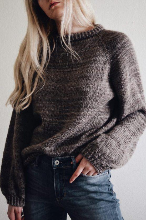 sweater knitting pattern raglan