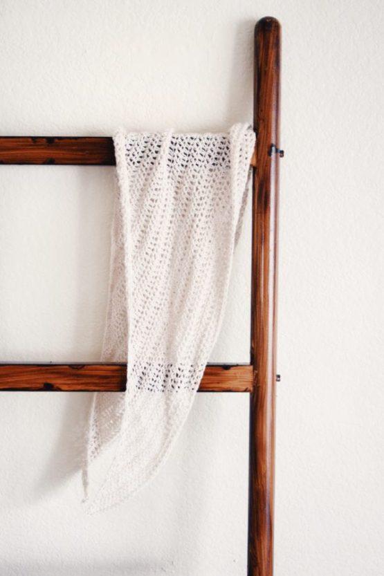 darling jadore haze scarf crochet pattern