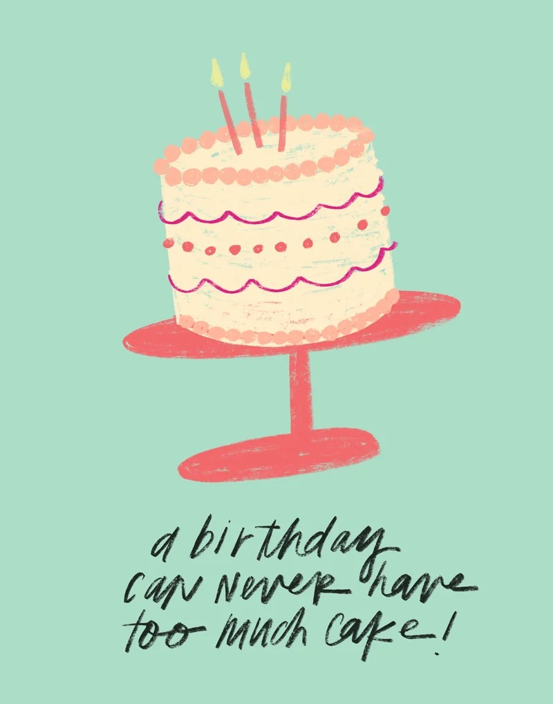 Quotes About Cake : quotes, about, Birthday, Digital, Quote, Print, Darling