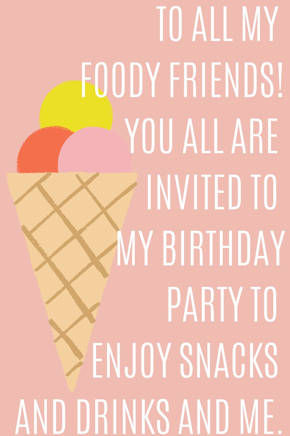 21 funny birthday invitation quotes