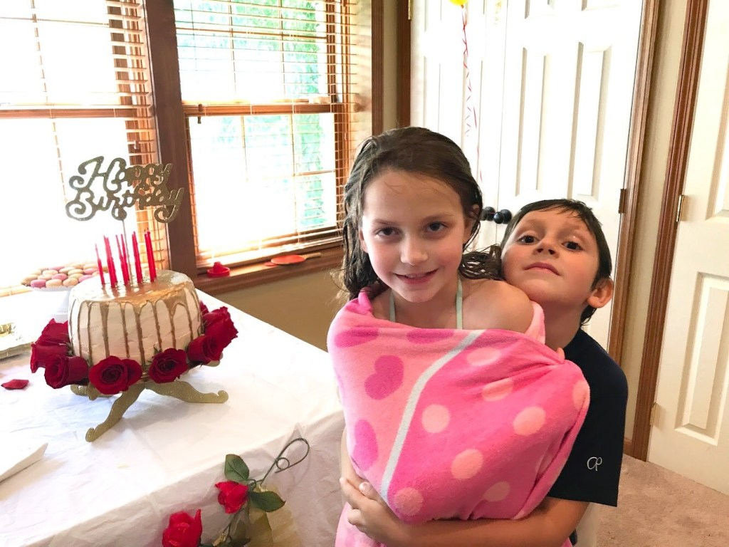 Brilee's 9th Birthday - Beauty and the Beast Inspired Party -DarlingSouth.com